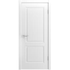 Ульяновская дверь Лацио-222 белая эмаль ДГ