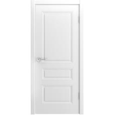 Ульяновская дверь Лацио-555 белая эмаль ДГ