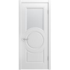 Ульяновская дверь Лацио-888 белая эмаль ДО-1