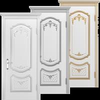 Крашенные двери Премьера