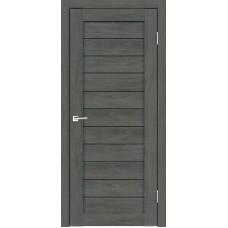 Дверь экошпон Duplex-0 дуб серый
