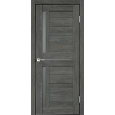 Дверь экошпон Duplex-3 дуб серый