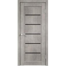 Дверь экошпон Next-1 муар светло-серый