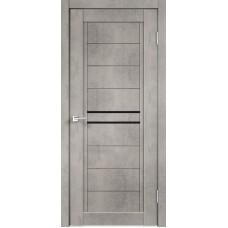 Дверь экошпон Next-2 муар светло-серый