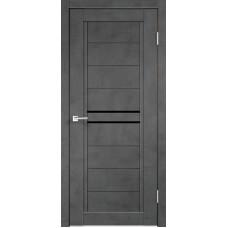 Дверь экошпон Next-2 муар тёмно-серый