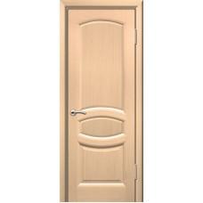 Двери ульяновские Топаз белёный дуб ДГ