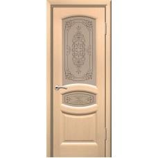 Двери ульяновские Топаз белёный дуб ДО