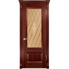 Ульяновские двери Фараон-1 красное дерево ДО