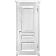 Ульяновские двери Фараон-2 дуб белая эмаль ДГ