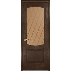 Ульяновские двери Лаура-2 морёный дуб ДО