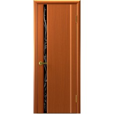 Ульяновские двери Трава-1 тёмный анегри