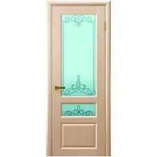 Ульяновские двери Валентия-2 белёный дуб ДО