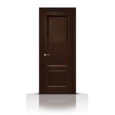 Дверь СитиДорс модель Малахит-1 цвет Венге