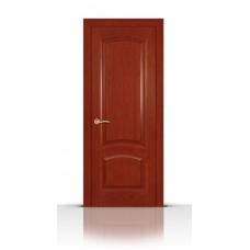 Дверь СитиДорс модель Александрит цвет Красное дерево