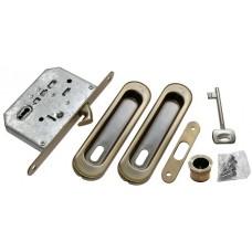 MORELLI Комплект для раздвижных дверей MHS150 L Античная бронза AB