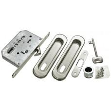 MORELLI Комплект для раздвижных дверей MHS150 L Матовый хром SC