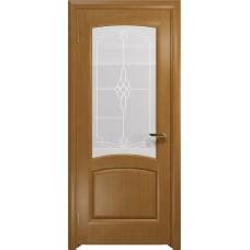 Дверь DioDoor Ровере анегри белое пескоструйное Корено