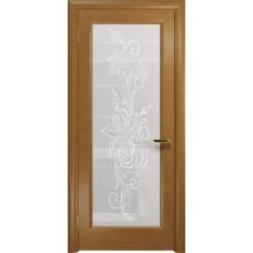 Дверь DioDoor Миланика-1 анегри белое пескоструйное Миланика