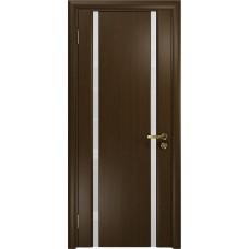 Дверь DioDoor Триумф-2 венге белый триплекс