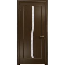 Дверь DioDoor Миланика-3 венге белое пескоструйное Миланика