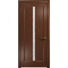 Дверь DioDoor Миланика-2 красное дерево белое пескоструйное Миланика