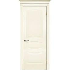 Межкомнатная дверь Смальта-02 слоновая кость RAL 1013 ДГ
