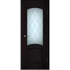 Ульяновские двери Вайт 01 чёный дуб ДО