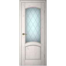 Ульяновские двери Вайт 01 ясень айсберг ДО