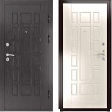 Входная дверь Luxor-5a белёный дуб 244