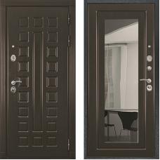 Входная дверь Престиж венге зеркало венге